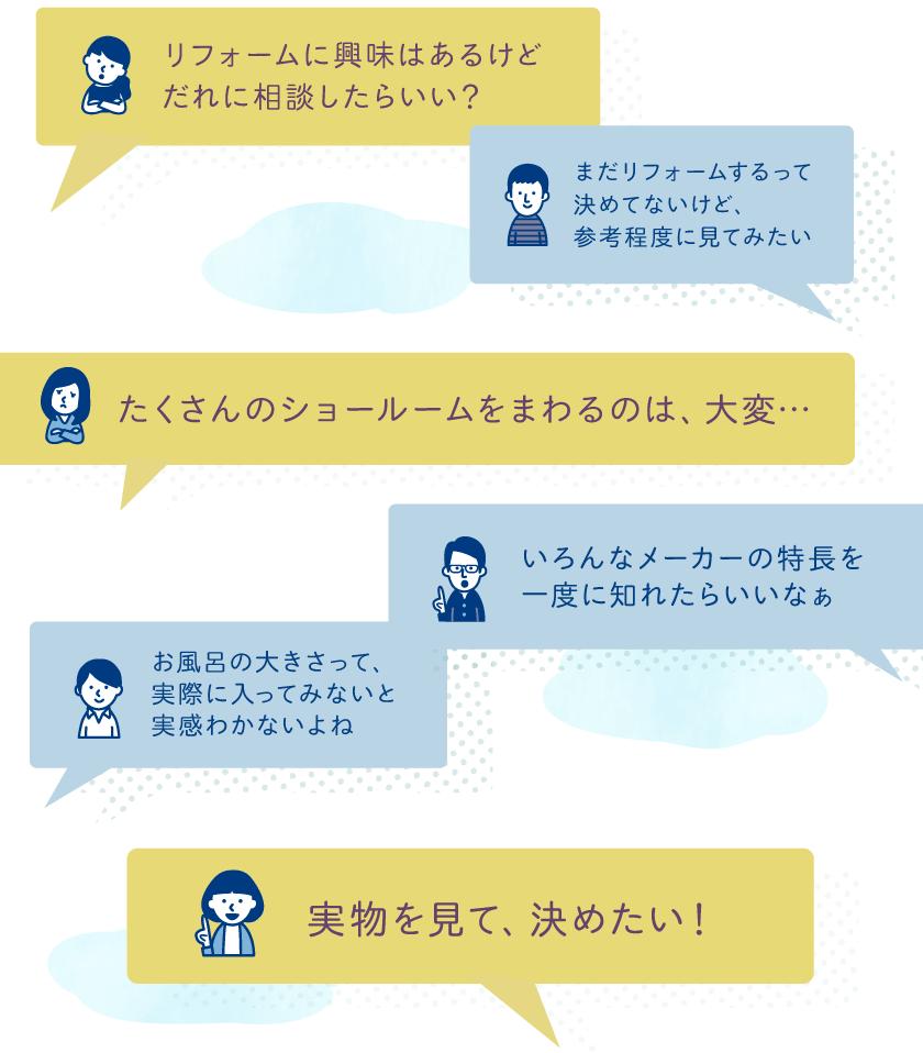 リフォームの疑問s